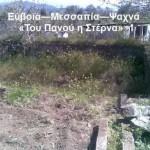 «Του Πανού η στέρνα» στα ιστορικά Ψαχνά Ευβοίας, όπου εκτελέστηκε ο καπετάν Κώτσος Δημητρίου (Αρβανίτης).