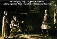 ΤΖΑΒΕΛΑΣ ΛΑΜΠΡΟΣ — Ήρωας της προεπαναστατικής περιόδου.