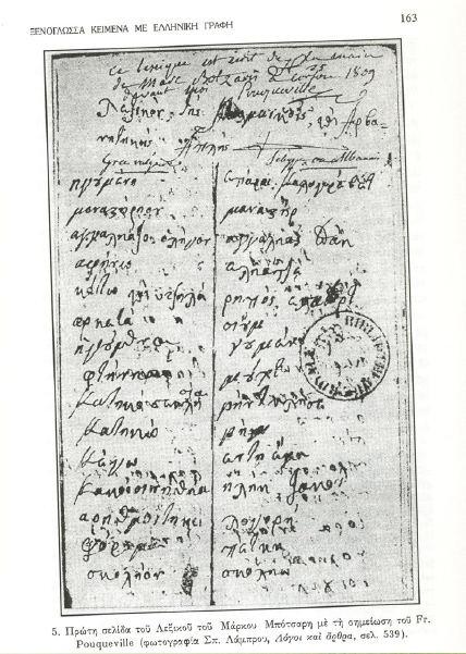 Μ ΜΠΟΤΣΑΡΗ ΛΕΞΙΚΟ 11
