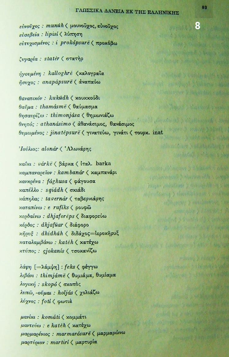 Μ ΜΠΟΤΣΑΡΗ ΛΕΞΙΚΟ 8