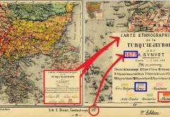 Ο ΕΘΝΟΓΡΑΦΙΚΟΣ ΧΑΡΤΗΣ ΤΗΣ ΒΑΛΚΑΝΙΚΗΣ ΤΟΥ 1877 (ΤΟΤΕ ΕΥΡΩΠΑΪΚΗΣ ΤΟΥΡΚΙΑΣ (του Α. Synvet)