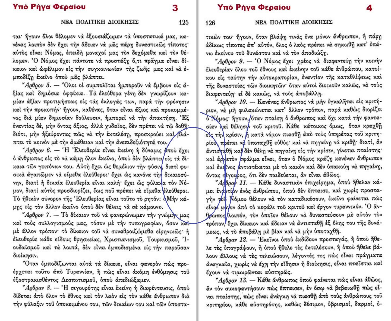 ΝΕΑ ΠΟΛΙΤΙΚΗ ΔΙΟΙΚΗΣΙΣ ΡΗΓΑ ΦΕΡΑΙΟΥ 3-4