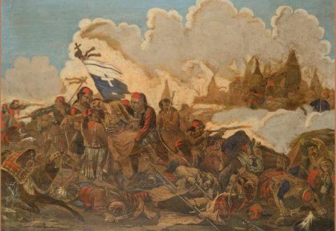 Μάρκος Μπότσαρης ο θάνατος του ήρωα